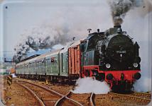 Blechpostkarte Lokomotive 916580