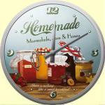 Homemade Marmalade Wanduhr (Echtglas)