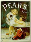 Pears Soap Mini Blechschild
