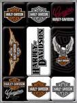 Magnet-Set Harley Davidson Logo
