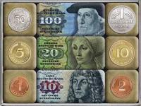 Magnet-Set Deutsche Mark