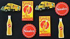 Sinalco Mini-Blechschild-Set (8er Set)