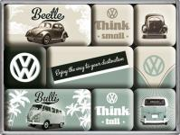 Magnet-Set VW Think Tall & Small