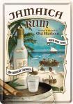 Blechpostkarte Jamaica Rum