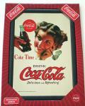 Coca Cola Spiegel Girl