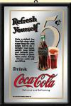 Coca Cola Spiegel Refresh Yourself