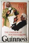 Guinness The Emperor Blechschild