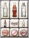 Magnet-Set Coca-Cola Bottle Timeline