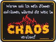 Funschild Chaos