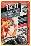 Best Garage red Blechschild