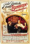 Berentzen's vom alten Fass Blechschild
