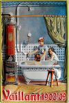 Vaillant 1908/09 Blechschild