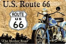 Route 66 The Mother Road Blechschild