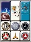 Magnet-Set Magnet-Set - Mercedes-Benz Logo Evolution