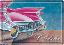 Blechpostkarte Cadillac - Standard of the world