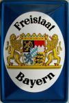 Freistaat Bayern Blechschild