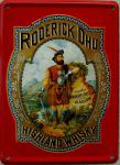 Roderick Dhu Highland Whisky Mini Blechschild
