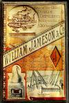 William Jameson Dublin Destilleries Blechschild