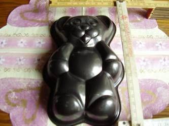Teddy - Bärchen - Backform - Vorschau