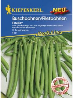 Buschbohnen Faraday (Verbesserung für Holl. Prinzess) 250g , Grundpreis: 35.96 € pro 1 kg