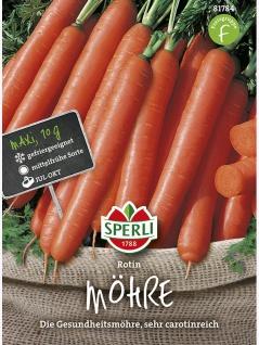 Möhre Rotin Maxipack 10g , Grundpreis: 0.29 € pro 1 g
