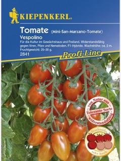 Tomate Pflaumen-Tomate Vespolino - Vorschau 1