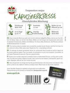 Kapuzinerkresse Glanzhybriden Mischung - Vorschau 2
