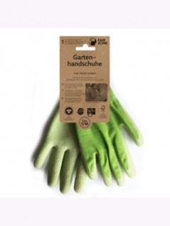 Gartenhandschuhe aus Naturkautschuk, 1 Paar M