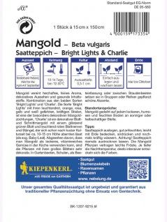 Saatteppich Mangold Bright Lights, Charlie (15cm x 150cm) - Vorschau 2