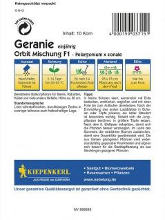 Pelargonium x zonale Geranien Mischung - Vorschau 2