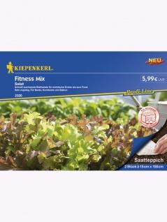Salat Fitness Mix 2x Saatteppich (15cm x 150cm) - Vorschau 1