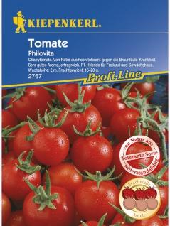 Tomaten Cherrytomate Philovita F1 braunfäuletolerant