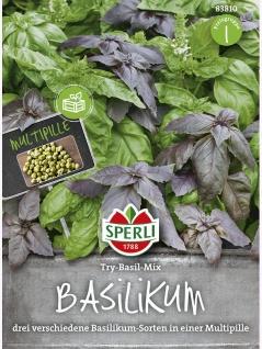 Basilikum SimplyHerbs Try-Basil-Mix
