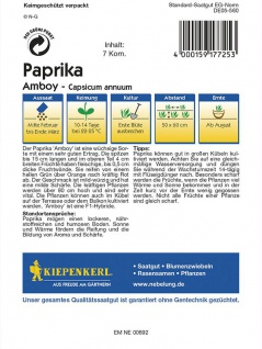 Paprika Peperoni Amboy - Vorschau 2