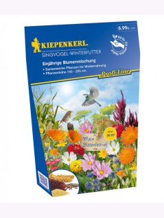Blumenmischung Singvogel Winterfutter , Grundpreis: 22.86 € pro 100 g