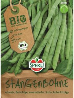 Stangenbohnen grün BIO