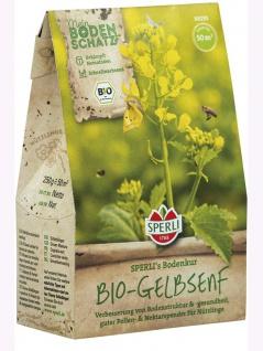 BIO Gründünger BIO-Gelbsenf 250gr , Grundpreis: 0.08 € pro 1 m2