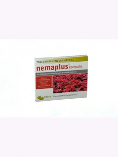 NemaPlus kompakt SF Nematoden zur Bekämpfung von Trauermücken 2x5 Mio für 20qm