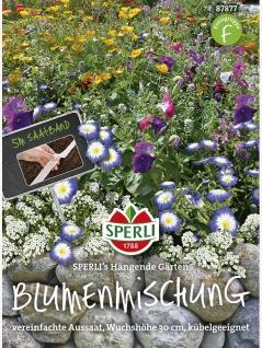 Blumenmischung Hängende Gärten, Saatband