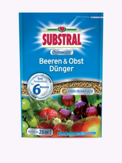 Substral Osmocote Beeren & Obst Dünger , Grundpreis: 4.99 € pro 1 kg