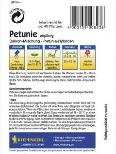 Petunia grandiflora Petunien Balkon-Mischung - Vorschau 2