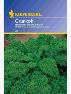 Grünkohl halbhoher grüner Krauser 25gr , Grundpreis: 0.10 € pro 1 g