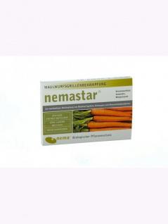 NemaStar SC Nematoden zur Bekämpfung von Maulwurfsgrillen Wiesenschnaken und Erdraupen 50 Mio für 100qm