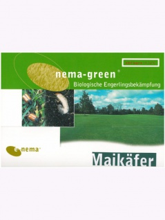 Nema-Green Maikäfer (Nematoden-Mix gegen Maikäfer-Engerlinge) 75 Mio für 100qm