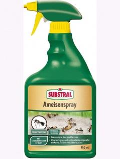 Substral Ameisenspray gebrauchsfertiges Kontaktspray, zur Bekämpfung von Ameisen, 750 ml Sprühflasche , Grundpreis: 15.32 € pro 1 l