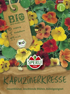 BIO Kapuzinerkresse - Bio-Saatgut