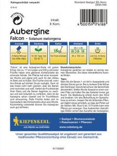 Aubergine Falcon - Vorschau 2