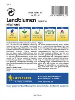 Landblumenmischung einjährige Mischung Mega-Pack - Vorschau 2