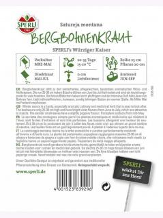 Bohnenkraut SPERLING`s Würziger Kaiser (mehrjährig) - Vorschau 2