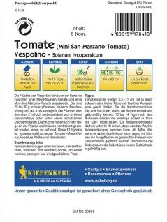 Tomate Pflaumen-Tomate Vespolino - Vorschau 2